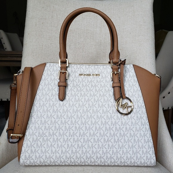 7d4cf52f85bc MICHAEL Michael Kors Bags | Nwt Michael Kors Lg Ciara Satchel Bag ...